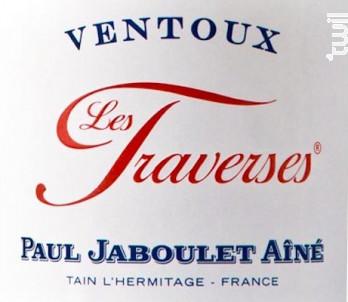 Les Traverses - Paul Jaboulet Aîné - 2016 - Blanc