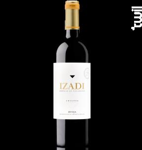 Rioja crianza - tempranillo - IZADI - 2016 - Rouge