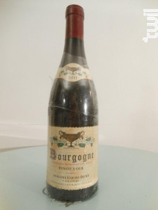 Pinot noir - Domaine Coche Dury - 2011 - Rouge