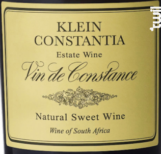 Vin de Constance - Klein Constantia - 2015 - Blanc