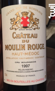 Château du Moulin Rouge - Château du Moulin Rouge - 1990 - Rouge