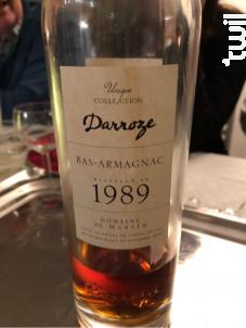 Collection Unique 1989 - Darroze - 1989 - Rouge