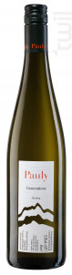 Generations - riesling - AXEL PAULY - 2017 - Blanc