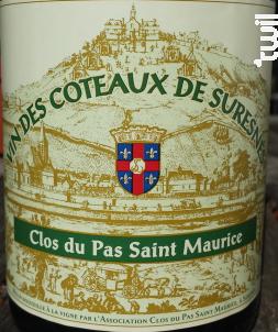 Vin des Coteaux de Suresnes - Clos du Pas Saint-Maurice - 2017 - Blanc