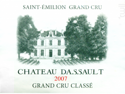 Château Dassault - Château Dassault - 2007 - Rouge