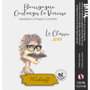 Le Classic Blanc - Domaine Maltoff - 2018 - Blanc