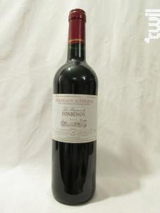 La Réserve de Fonbenoy - Les Celliers De la Chapelle - 2011 - Rouge