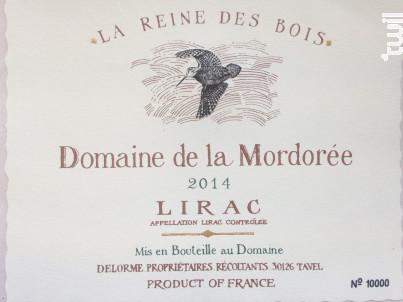 La Reine des Bois Lirac - Domaine de la Mordorée - 2017 - Rouge