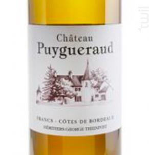 Château PUYGUERAUD - Château Puygueraud - 2016 - Blanc
