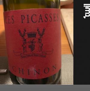 Les Picasses Chinon - Château de Coulaine - 2015 - Rouge