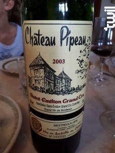 Château Pipeau - Château Pipeau - 2003 - Rouge