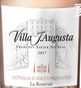 Villa J. Augusta La Roseraie - Nicolas Père & Fils - 2018 - Rosé