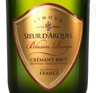 Blason Rouge - Sieur d'Arques - Non millésimé - Effervescent