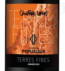 Les Terres Fines - Château Pepusque - 2017 - Rouge