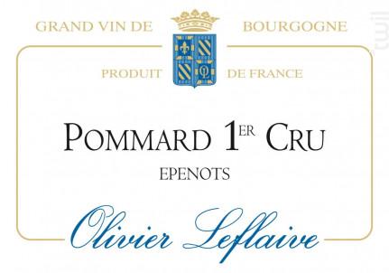 Pommard Premier Cru Epenots - Maison Olivier Leflaive - 2015 - Rouge