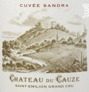 Château du Cauze  - Cuvée Sandra - Château du Cauze - 2015 - Rouge