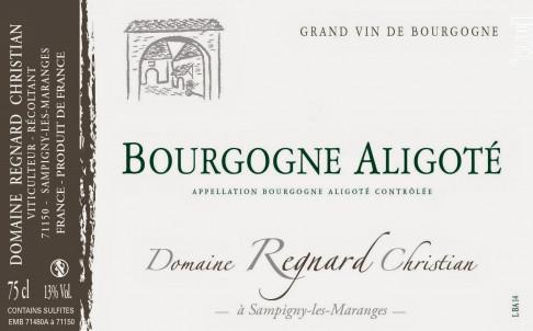 Bourgogne Aligoté Domaine Regnard Christian