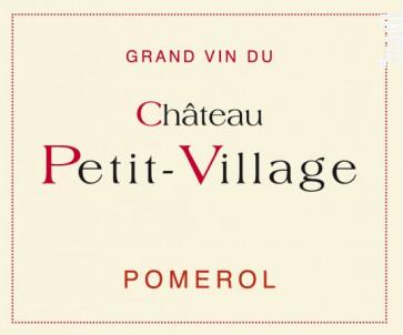 Château Petit-Village - Château Petit-Village - 2012 - Rouge