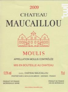 Château Maucaillou - Château Maucaillou - 2009 - Rouge