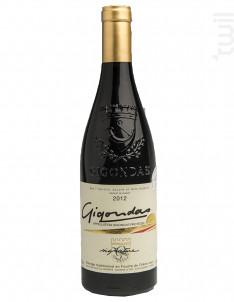 Gigondas signature - Gigondas La Cave - 2012 - Rouge