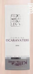 Domaine des Escaravatiers - Domaine des Escaravatiers - 2018 - Rosé