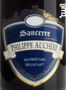 Sancerre - Philippe Auchère - 2019 - Rouge