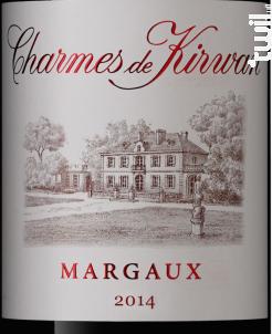 Les Charmes De Kirwan - Château Kirwan - Domaine Schröder & Schÿler - 2014 - Rouge