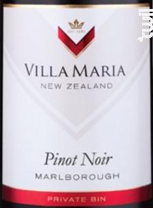 Villa Maria Private Bin Pinot Noir - Domaine Villa Maria - 2015 - Rouge