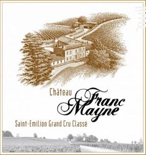 Château Franc Mayne - Château Franc Mayne - 2013 - Rouge