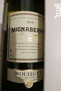 MIGNABERRY - Cave d'Irouleguy - 2018 - Rouge
