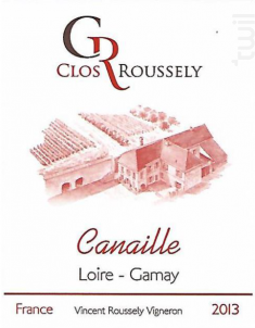 Canaille - Domaine du Clos Roussely - 2017 - Rouge