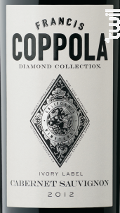 Diamond collection - cabernet sauvignon - FRANCIS FORD COPPOLA WINERY - 2015 - Rouge