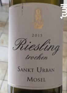 Riesling Trocken - Sankt Urbans-Hof - 2016 - Blanc