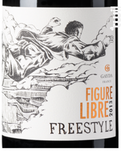 Figure Libre Freestyle Rouge - Domaine Gayda - 2016 - Rouge