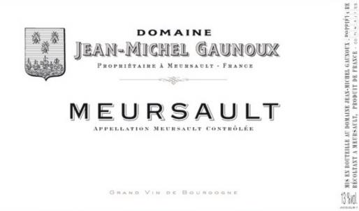 MEURSAULT - Domaine Jean-Michel Gaunoux - 2015 - Blanc