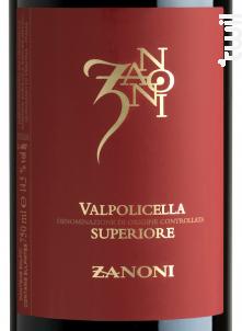 Zanoni Valpolicella - Zanoni - 2018 - Rouge