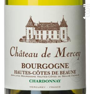 Château de Mercey - Antonin Rodet - 2013 - Blanc