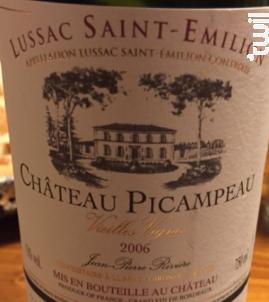 Château Picampeau - Château Picampeau - 1992 - Rouge