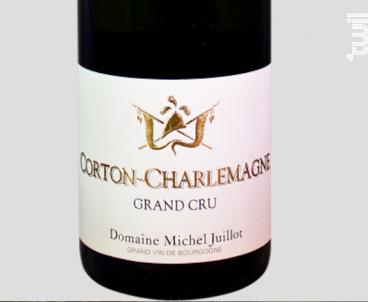 CORTON CHARLEMAGNE - Domaine Michel Juillot - 2012 - Blanc