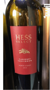 Hess Select Cabernet - The Hess Collection WInery - 2013 - Rouge
