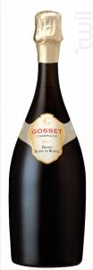 Grand Blanc de Blancs - Champagne Gosset - Non millésimé - Effervescent
