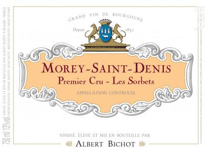 Morey-Saint-Denis Premier Cru Les Sorbets - Albert Bichot - 2019 - Rouge