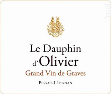 Le Dauphin d'Olivier - Château Olivier - 2014 - Rouge