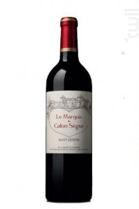 Marquis de Calon - Château Calon Ségur - 2015 - Rouge