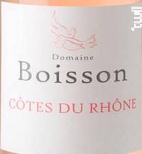 Côte du Rhône Rosé - Domaine Boisson - 2019 - Rosé