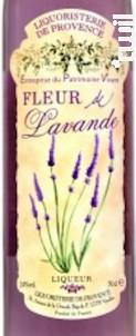 Fleur de Lavande - Liquoristerie de Provence - Non millésimé - Blanc