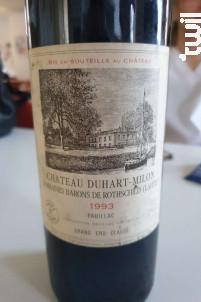 Château Duhart Milon - Domaines Barons de Rothschild - Château Duhart-Milon - 1989 - Rouge