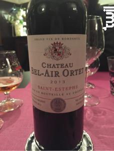 Château Bel-Air Ortet - Château Bel-Air Ortet - 2015 - Rouge