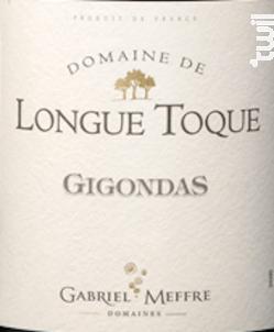 Domaine de Longue Toque - Gigondas - Maison Gabriel Meffre - 2015 - Rouge