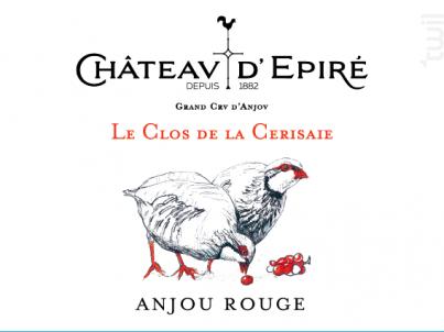 Clos de la Cerisaie - Château d'Epiré - 2018 - Rouge